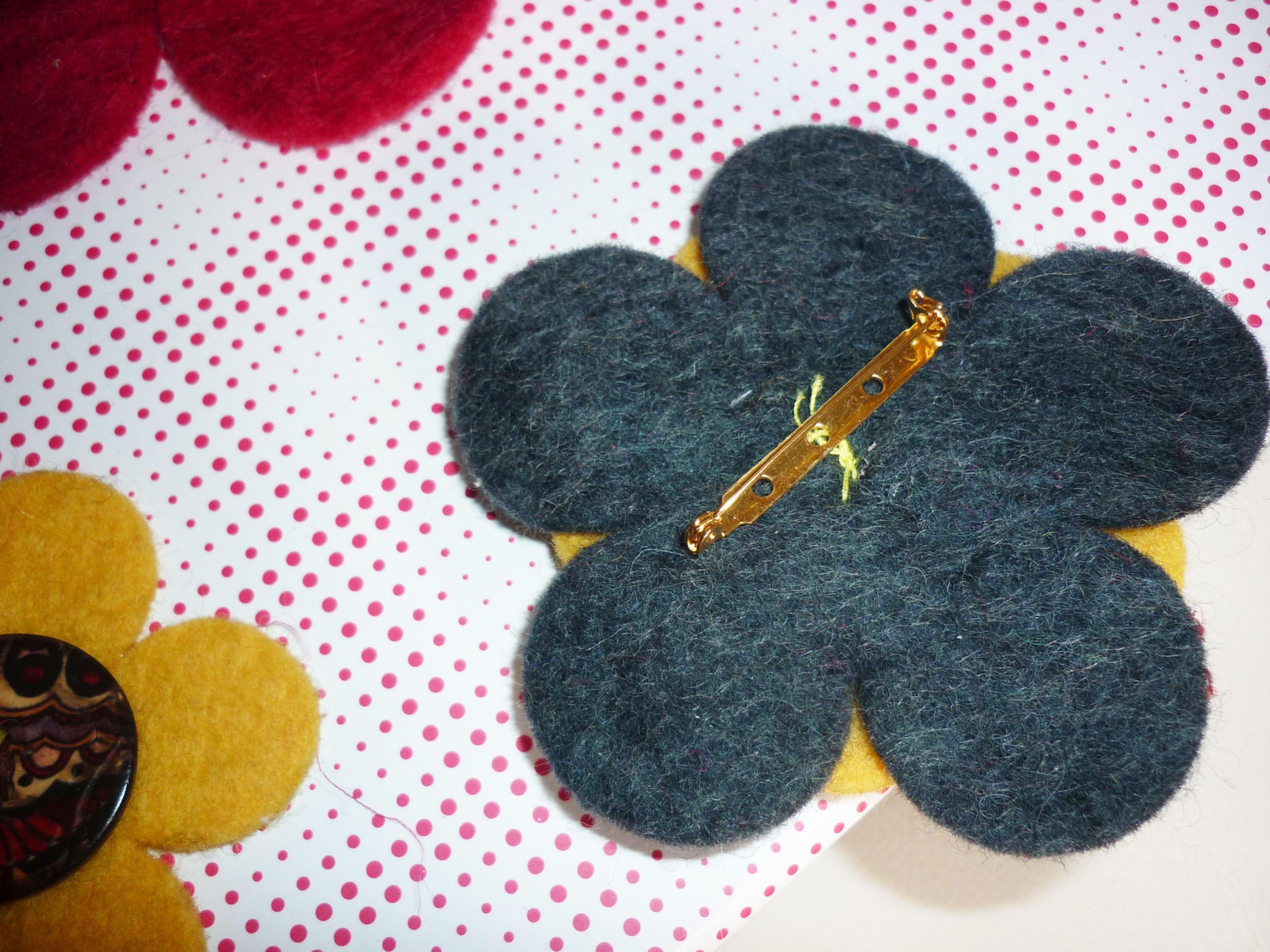 DIY Felt Brooches